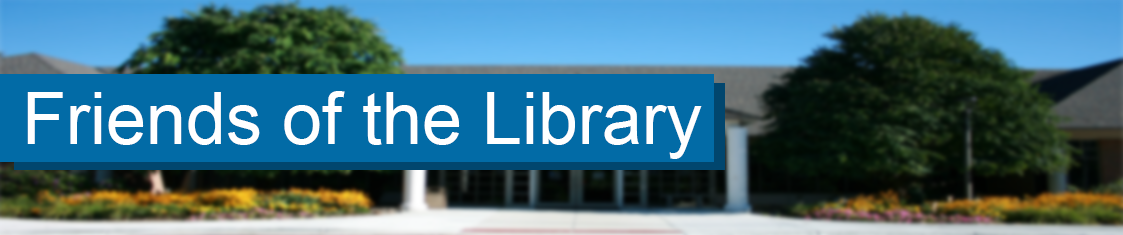 Friends of the Library Page Header Logo